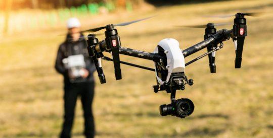 Drone Pilot with Inspire UAV platform with Cine grade camera 4K HD