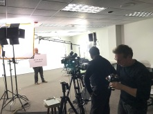 st louis studio production shot on set for diversity training for employees.