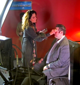 makeup and teleprompter services